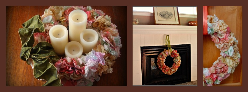Coffee Filter Wreath Ideas