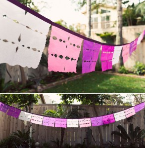 DIY Papel Picado Flags