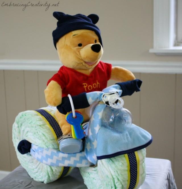 Winnie the Pooh Diaper Bike