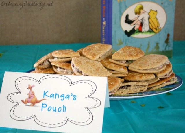 Winnie the Pooh Party - Kanga's Pouch