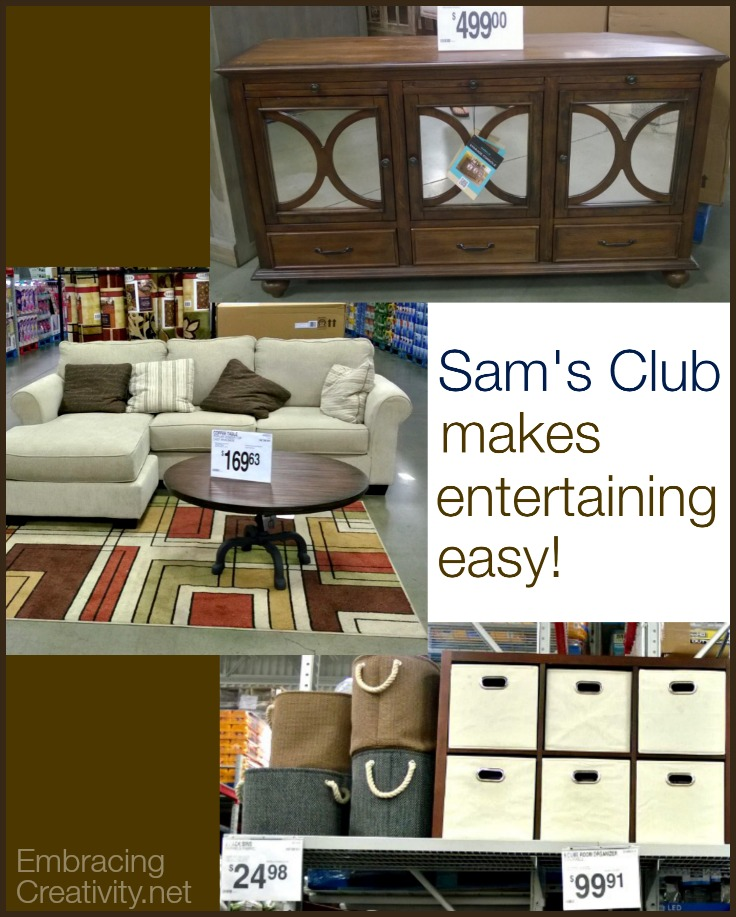Sam's Club Makes Entertaining Easy