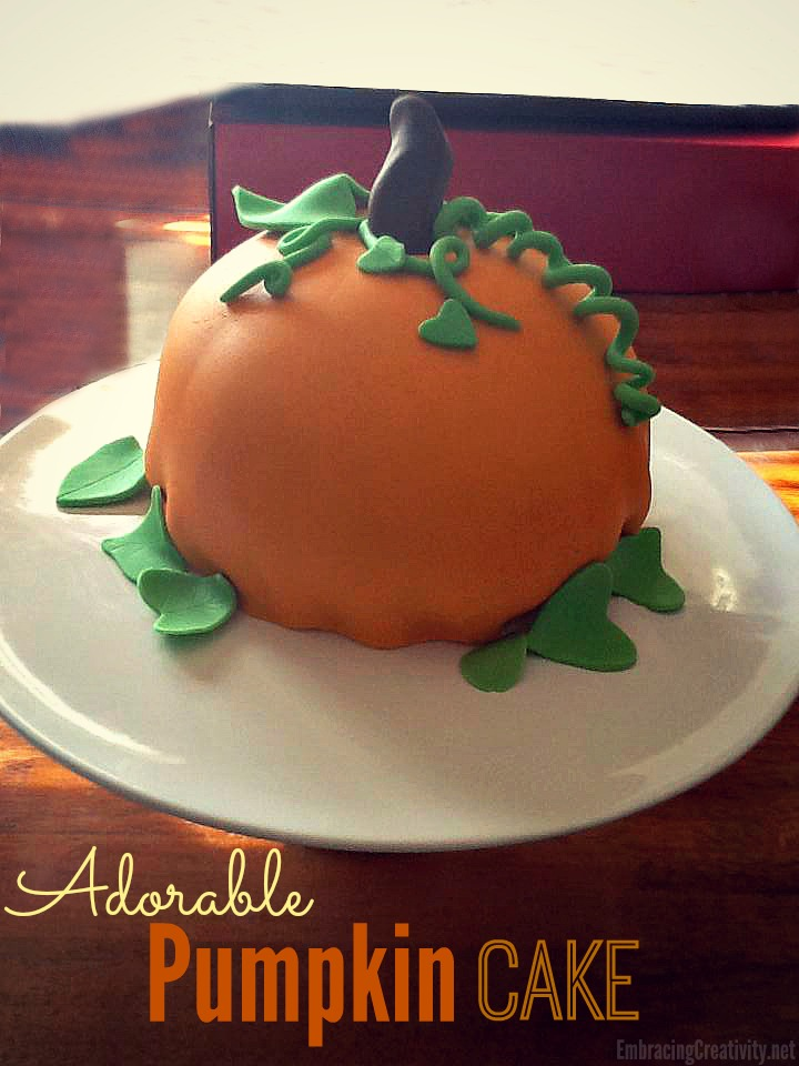 adorable Pumpkin Cake