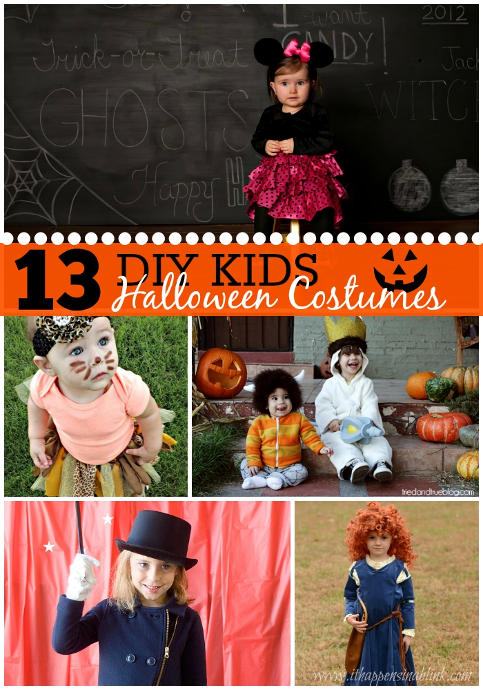 13 DIY Kids Halloween Costumes